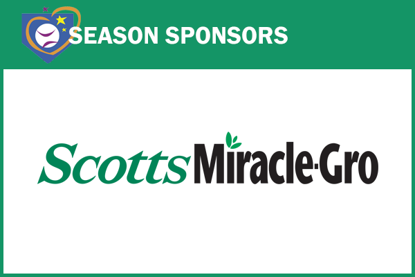 Season Sponsors Scotts Miracle Gro