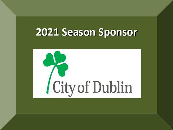 2021 Season Sponsor City of Dublin