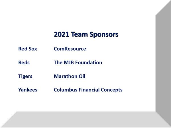2021 Team Sponsors