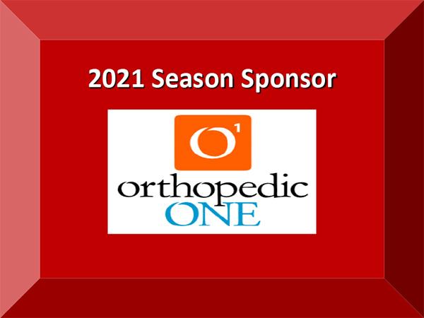 2021 Season Sponsor Orthopedic One
