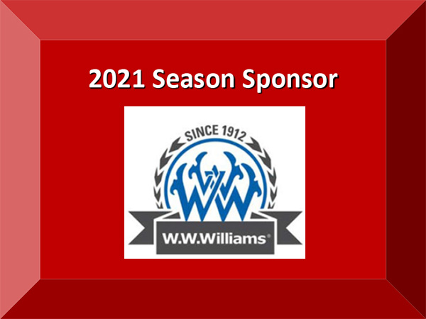 2021 Season Sponsor W W Williams